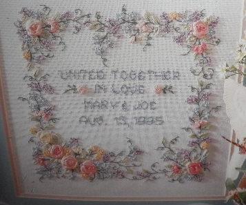 Wedding Sampler Bucilla Ribbon Embroidery Kit NIP  EBay